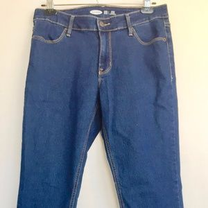 Old Navy Super Skinny Mid-Rise Jeans.